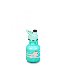 Klean Kanteen Stainless Steel Sippy Kids water Bottle - Jellyfish