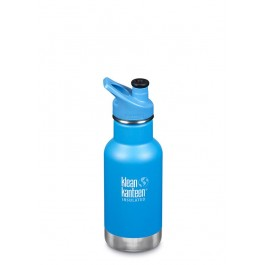 Klean Kanteen Stainless Steel insulated Kids Water Bottle 355ml- Pool Party