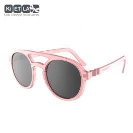 KiETLA Kids Sunglasses 6-9 years - CraZyg-Zag SUN PiZZ Pink, sunglasses, sunglasses for kids, eco friendly