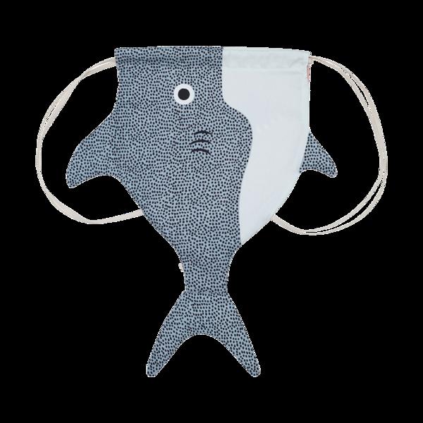 Don Fisher Kid Backpack -  Kid Shark, don fisher, cow makes moo, kids, kids fashion