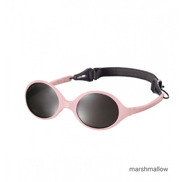 ki et la Baby sun shades  0-18 months - Diabolo  Light Pink , babies sun glasses, eco friendly,