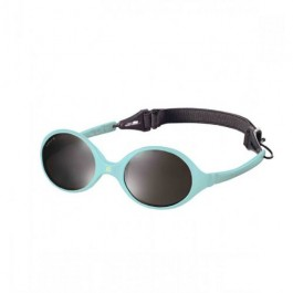 KiETLA Baby sun shades 0-18 months - Diabolo Light Blue, babies sun glasses, eco friendly,