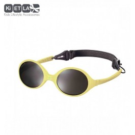 KiETLA Baby sun shades 0-18 months - Diabolo Yellow, babies sun glasses, eco friendly, kietla, eco friendly sunglasses,