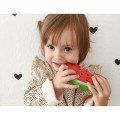 oli & carol Natural Rubber Toy - WALLY THE WATERMELON, oil and carol, natural rubber toy, teething toys for babies, baby toys, eco friendly toys for kids, for babies, avocado,