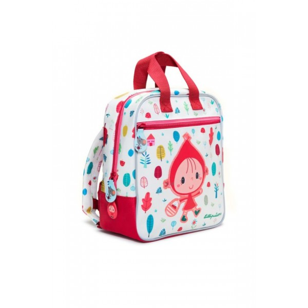 LILLIPUTIENS - Backpack for kids Red Riding Hood