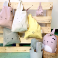 Fabelab Lunch Bag - Bunny Mauve, lunch bags, bags for the food, kids, back to school