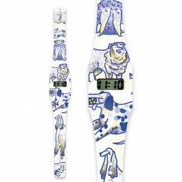 Pappwatch for kids -  DOGS OF BERLIN, paper watch, eco friendly watches for kids, kids, i like paper