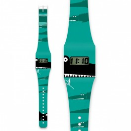 Pappwatch for kids - ALLIGATOR, i like paper, pappwatch, paper watches, kids watches, kids,