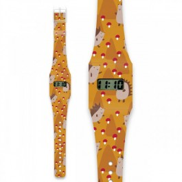 Pappwatch for kids - HEDGEHOG, i like paper, pappwatch, paper watches, kids watches, kids,