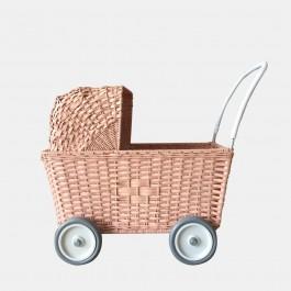 Olli Ella Καρότσι κούκλας - Pink