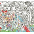 OMG Giant Coloring Poster - Museum