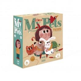 Londji Puzzle - I love my pets, londji toys, londji puzzles,