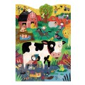 Londji Puzzle - Farm Animals, londji puzzle, londji toys,