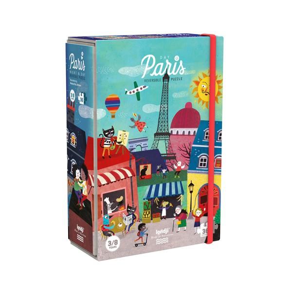 Londji Reversible Puzzle - Paris