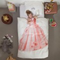 snurk duvet cover - Princess Pink, snurk, eco friendly kids, snuck duvet cover, snuck organic, cowmakesmoo,