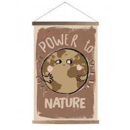 Studio Loco Canvas - Power to nature