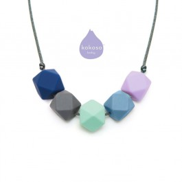 Lara & Ollie Teething Necklace - SEREN, lara and ollie, lara & ollie, teething necklace, eco friendly, stylish jewelry for mums, stylish jewelry,