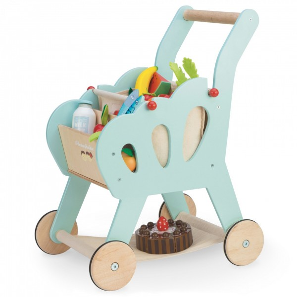 le toy van shopping, shopping trolley,