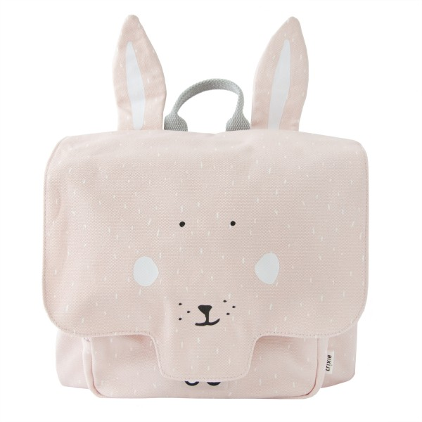 Satchel -   Mr Rabbit  , trixie backpack, trixie-baby, trixie baby, eco friendly, kids accessories, bags for school, backpack for kids, backpacks for kindergarten
