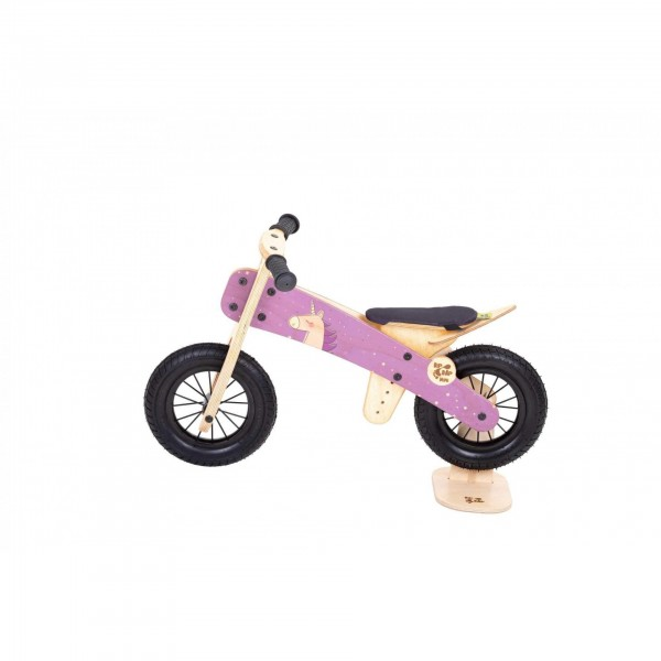 Dip Dap Wooden Balance Bike MINI - Unicorn, balance bike, balance bicycle, bike for kids, wooden bike for kids,