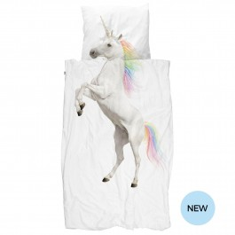 snurk duvet cover - Unicorn, snurk, eco friendly kids, snuck duvet cover, snuck organic, cowmakesmoo,