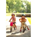 Dip Dap Wooden Balance Bike MINI - Pink Bear, balance bike, balance bicycle, bike for kids, wooden bike for kids,