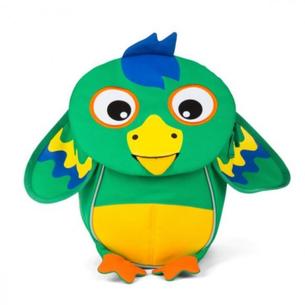 Affenzahn Eco Friendly Kid Backpack - Macaw