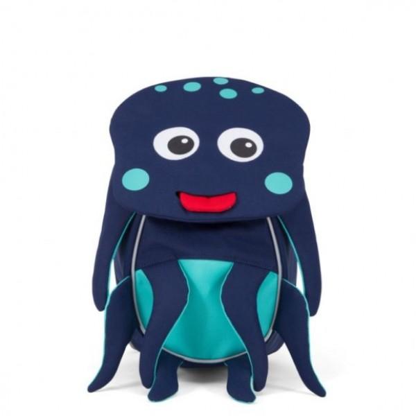 Affenzahn Eco Friendly Kid Backpack MINI - Octopus, eco friendly backpacks, backpacks for kindergarten, bags for school, bags for preschool, kids,