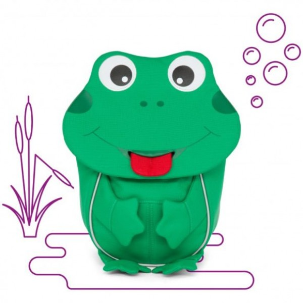 Affenzahn Eco Friendly Kid Backpack - Frog
