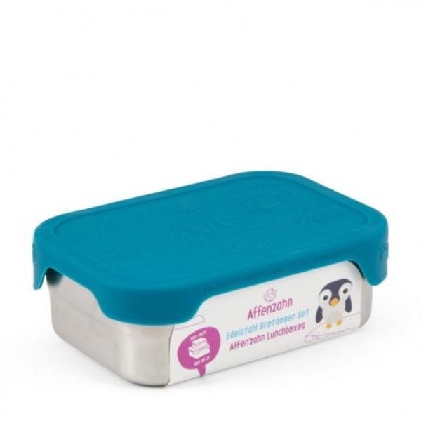 AFFENZAHN Stainless Steel  Lunch Box - Blue