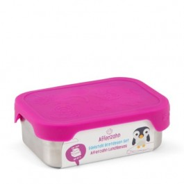 AFFENZAHN Stainless Steel  Lunch Box - Purple