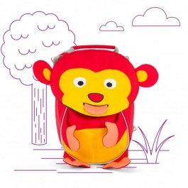 AFFENZAHN Kids Backpack Eco Friendly - Monkey