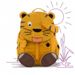 AFFENZAHN Kids Backpack Eco Friendly - Tiger