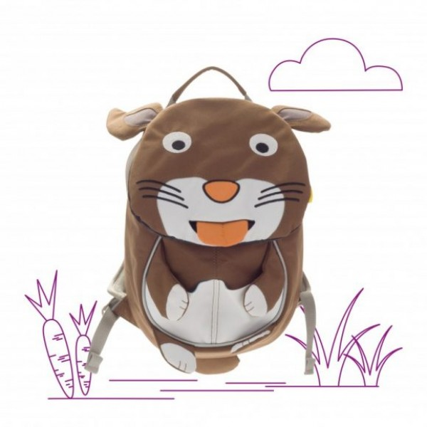Affenzahn Eco Friendly Kid Backpack MINI - Bunny, eco friendly backpacks, backpacks for kindergarten, bags for school, bags for preschool, kids,