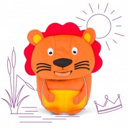 Affenzahn Eco Friendly Kid Backpack MINI - LION, eco friendly backpacks, backpacks for kindergarten, bags for school, bags for preschool, kids,