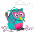 Affenzahn Eco Friendly Kid Backpack MINI - Owl, eco friendly backpacks, backpacks for kindergarten, bags for school, bags for preschool, kids,