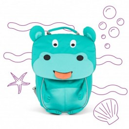 Affenzahn Eco Friendly Kid Backpack MINI - Hippo, eco friendly backpacks, backpacks for kindergarten, bags for school, bags for preschool, kids,