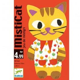 Djeco Επιτραπέζιο με κάρτες 'Misticat'