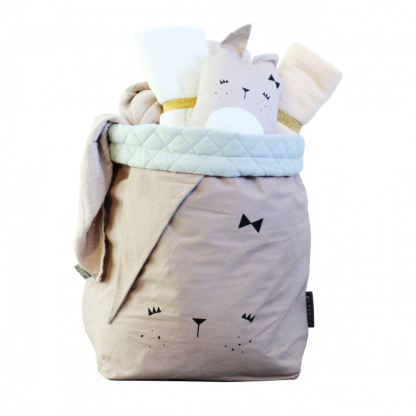 Fabelab Storage Bag - Bunny, storage bag, kids room,