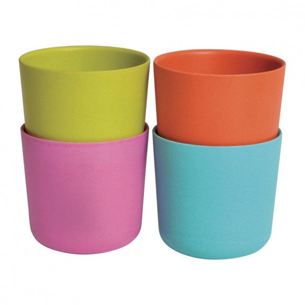 Ekobo Kids Bamboo Cup Set - Pop