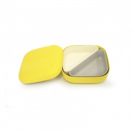 ekobo bento lunch box square + 2 containers - Lemon