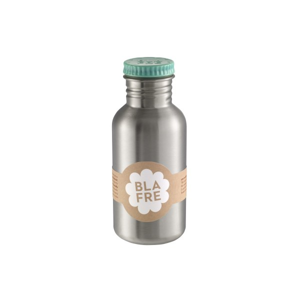 blafre Steel Bottle 500ml - Blue, bottle for the water, back to school, accessories for kids, blare, bpa free