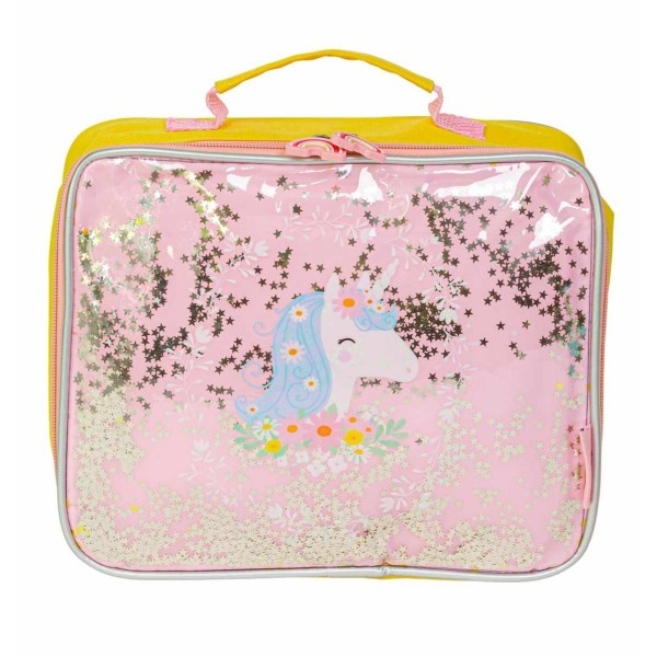 A little lovely company cool bag - Glitter Unicorn