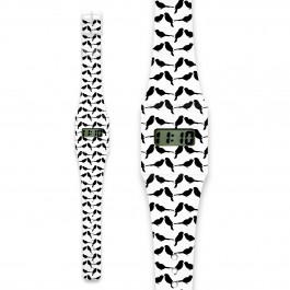 Pappwatch - BLACK SPARROW,  cow makes moo, paper watches, kids, watches for kids, eco friendly, i like paper, cow makes moo,