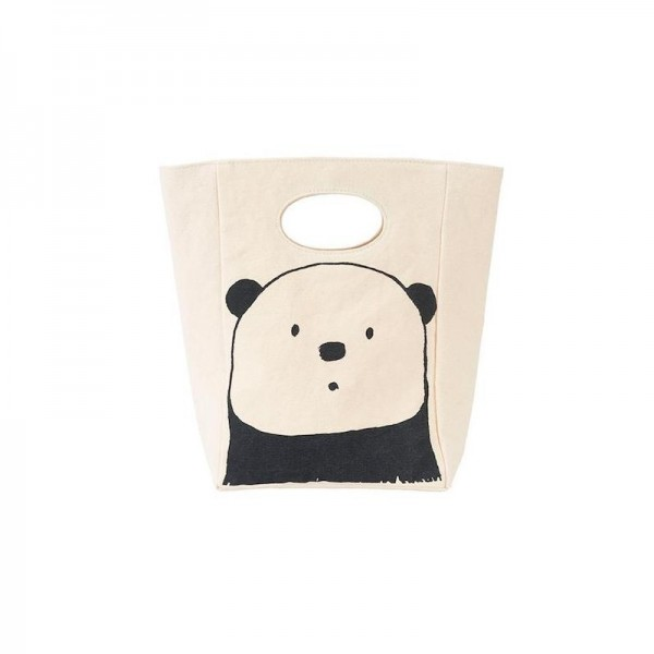 FLUF Organic Lunch Bag - Panda