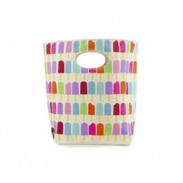 Fluf Organic Lunch Bag - Popsicle, eco friendly lunch bags, for the school,