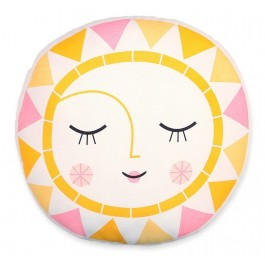 Petit Monkey Organic Cushion - Sun