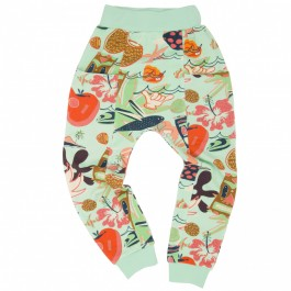Koolabah Organic Pocket Pant - Delight, organic kids, kids wear, baby wear, koolabah kids, cow makes moo, meet market kids wear, bio kids,