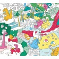 OMG Giant Coloring Poster - Dinosaur