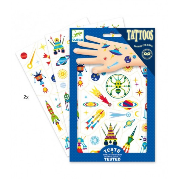 Djeco Tattoo Space